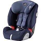 BRITAX RÖMER Silla de coche EVOLVA 1-2-3 SL SICT, con protecciones laterales, niño de 9 a 36 kg (Grupo 1/2/3) de 9 meses a 12 años, Moonlight Blue