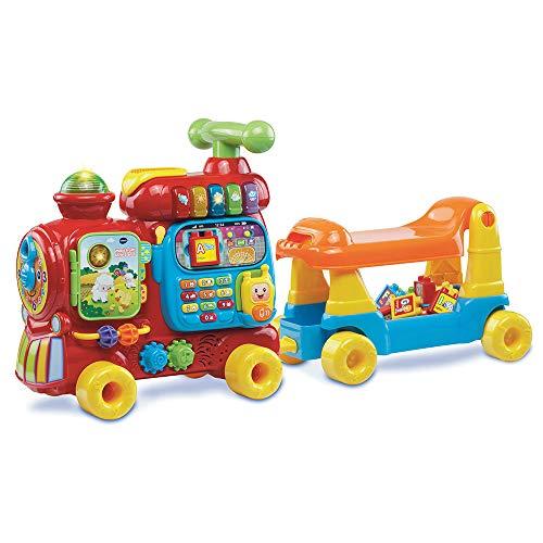 VTECH BABY- Maxi TROTTI Loco 5 en 1 PORTEURS ET Trotteurs, 80-181975, Multicolore - Version FR