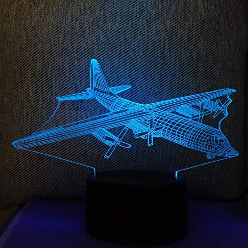 3D-acryl nachtlampje met afstandsbediening, kleurverandering, tafellamp, bal, tekst