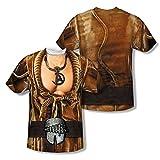 Star Trek - Khan Uniform (Front/Back Print) T-Shirt Size XXXL