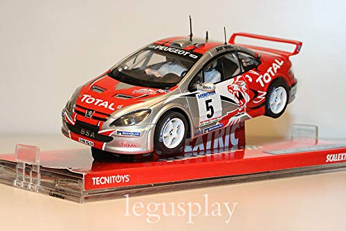 SCX Slot Scalextric 6451 Peugeot 307 WRC Condroz Rally Total Nº5