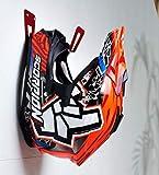 BESTUNT Support de casque de moto - Support de rangement pour étagère | Mount on wall Accessoires | Rouge