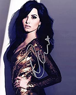 Demi Lovato Signed - Autographed Sexy Singer - Actress 8x10 inch Photo
