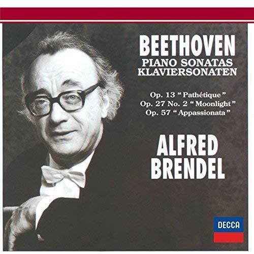 ベートーヴェン:ピアノ・ソナタ第8番「悲愴」&第14番「月光」&第23番「熱情」