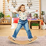 Yes4All Wooden Balance Kindergarten – Balance Board Kids/Wobble Balance Board for Toddlers with...