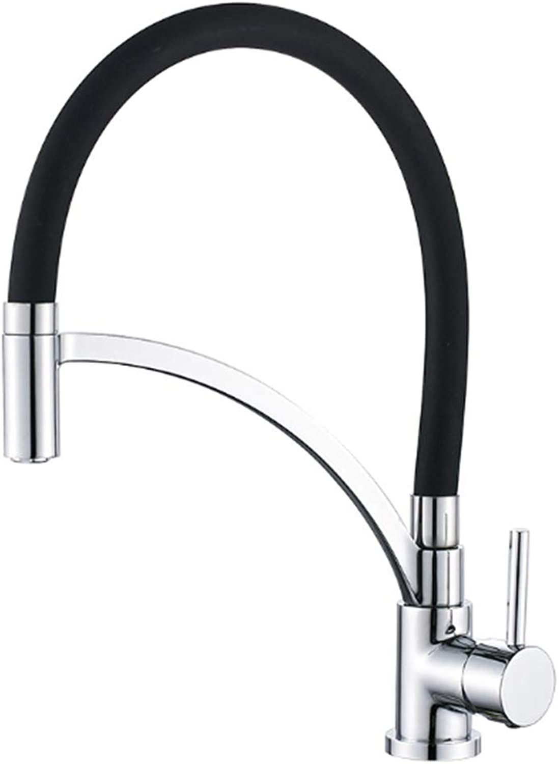 Commercial Lead Free Pull Out Kitchen Sink Faucet 360° redation Chrome Plating Single Handle Arc Water Filter Purifier Faucets