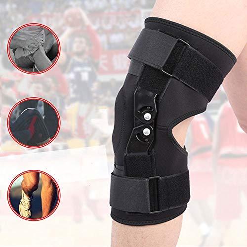 HUWAI-F Rodillera Ortopédica Terapéutica para aliviar y prevenir Lesiones Rodillera Estabilizadora de Compresión para Menisco, Ligamento Lateral y Cruzado Anterior