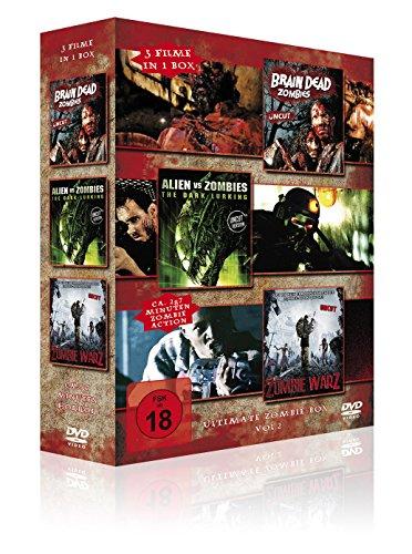 Ultimate Zombie Box Vol. 2 (Brain Dead Zombies - Alien vs. Zombies - Zombie Warz) [3 DVDs]