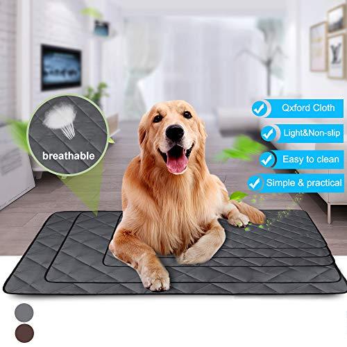 NIBESSER Hundematte Schlafmatte für Hunde Katzen Hundematte wasserdichte rutschfeste hundematte für Zuhause Unterwegs oder im Auto
