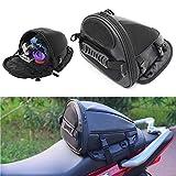 KADONG Motorcycle Back seat Bag Motorcycle Backpack Motorcycle Carry Bag Motorcycle Luggage Motorcycle Riding Bag Sport Bike Tail Bag