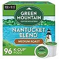 Green Mountain Coffee Nantucket Blend, Fair Trade, Medium Roast Coffee, 96 Count