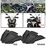 FATExpress US Stock!! MT09 Tracer Motor Front Wheel Fender Beak Nose Cone Guard Extension Cover Cowl for 2018 2019 2020 Yamaha MT-09 Tracer 900 GT MT FJ 09 FJ09 FJ-09 Motorcycle Accessories (Black)