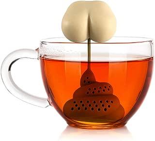Poapp Filtro de té Filtro de té Filtro de Silicona Filtro de té Divertido diseño Moderno Muy Divertido para teteras Tazas de té