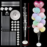 DONGMAI Balloon Holder 101/130/160cm Balloon Stand Wedding Decoration Happy Birthday Party Balloon Stick Holder Accessories (Color : 19tube Balloon Stand)