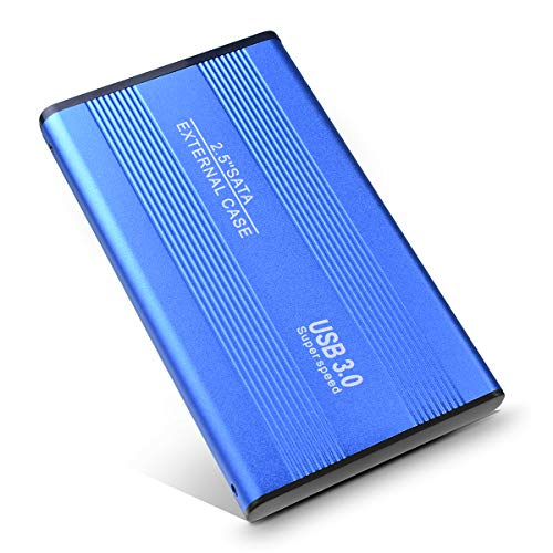 Disco Duro Externo 1tb USB 3.0 para Mac, PC, MacBook, Chromebook, Xbox (1tb, Azul)