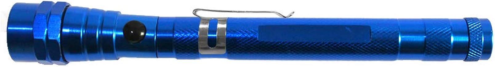 Projects Flexibele LED zaklamp met magneet uittrekbaar waterdicht 'Magic Light' royal blue | super heldere telescopische z...
