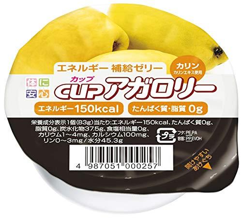 カップアガロリー カリン 83g×24個 【医療食】