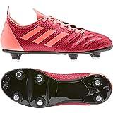 Adidas Malice Junior (SG), Chaussure de Piste d'athlétisme Mixte Enfant, Scarlet/Signal Coral/Core Black, 38 2/3 EU