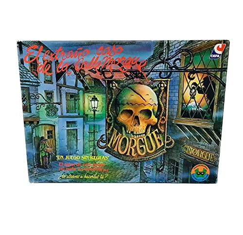 Cefa Toys-El Extraño Caso de la Calle Morgue, Juego de Mesa Estratégico de Misterio y Asesinato, Apto para Niños a Partir de 7 años (21818)