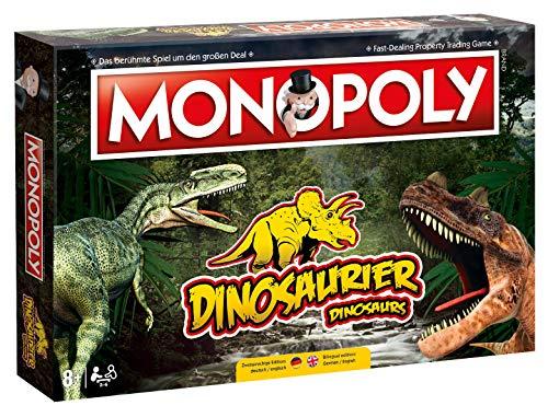 Winning Moves Monopoly Dinosaurier Dino Edition Gesellschaftsspiel Brettspiel Spiel