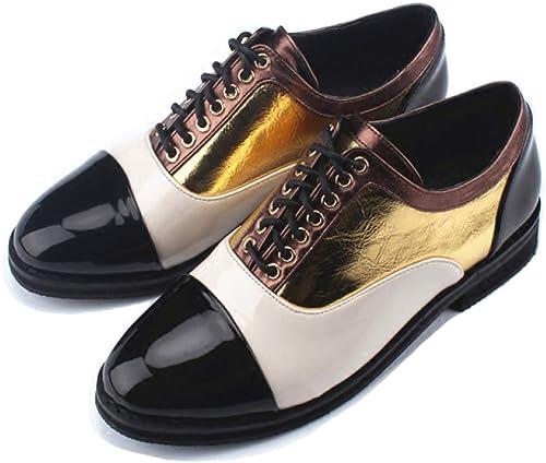 LITHAPP zapatos Para mujer De Mediana Bloque Del Talón Ata Para Arriba La Noche Trabajo Mary Jane Tobillo De Arranque