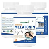 Herballeaf advanced melatonin – 10mg | formulated to promote peaceful sleep | non