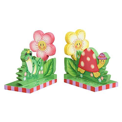 Fantasy Fields Magic GardenKids Holz-BuchstützenKinderzimmer Dekor W-9838