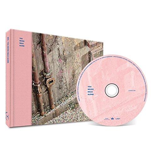 BANGTAN BOYS KPOP YOU NEVER WALK ALONE WINGS BTS [RIGHT Ver.] Album CD + Poster + Photobook + Photocard + Gift (4 Photocards Set)