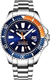 Stuhrling Original Watches for Men-Pro Diver Watch - Sports Watch for Men with Screw Down Crown for...