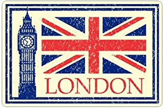 JS Artworks London England Travel Luggage Vinyl Sticker Decal