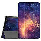 Fintie Hülle Hülle für Huawei Mediapad M5 8 Tablet - Ultra Dünn Superleicht SlimShell Ständer Hülle Cover Schutzhülle Auto Sleep/Wake Funktion für Huawei MediaPad M5 21,34 cm (8,4 Zoll),Die Galaxie