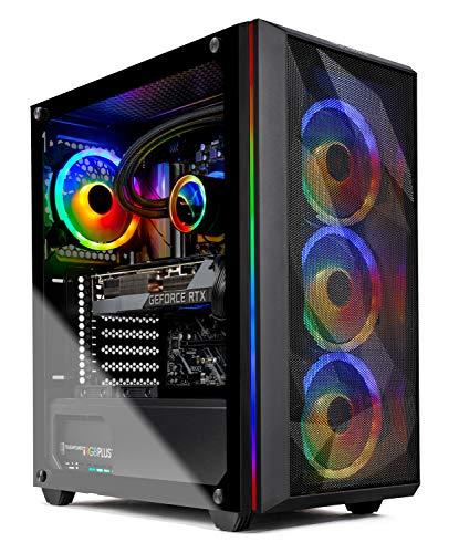 Skytech Chronos Gaming PC Desktop - AMD Ryzen 9 3900 3.1GHz, RTX 3080 10GB, 16GB DDR4, Seagate...