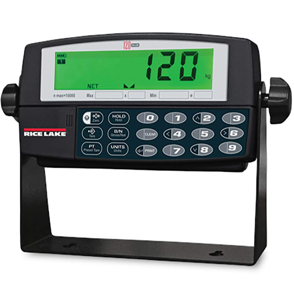 Rice Lake 107619 120 Plus Digital Ranking TOP4 Indicator Weight Off 5 ☆ very popular with on