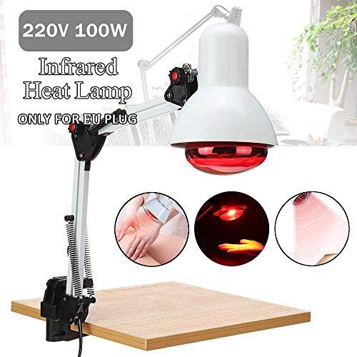 Terapia de Calor por foco lámpara infrarroja luz ajustable ángulo de suelo de Stand de infrarrojos de lámpara de calor terapia de fisioterapia de luz de alivio