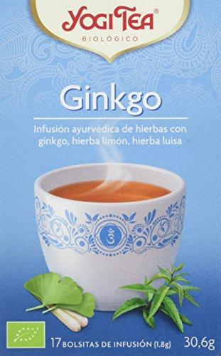 Yogi Tea Ginkgo - 17 Bustine Filtro [30.6 gr] - [confezione da 3]