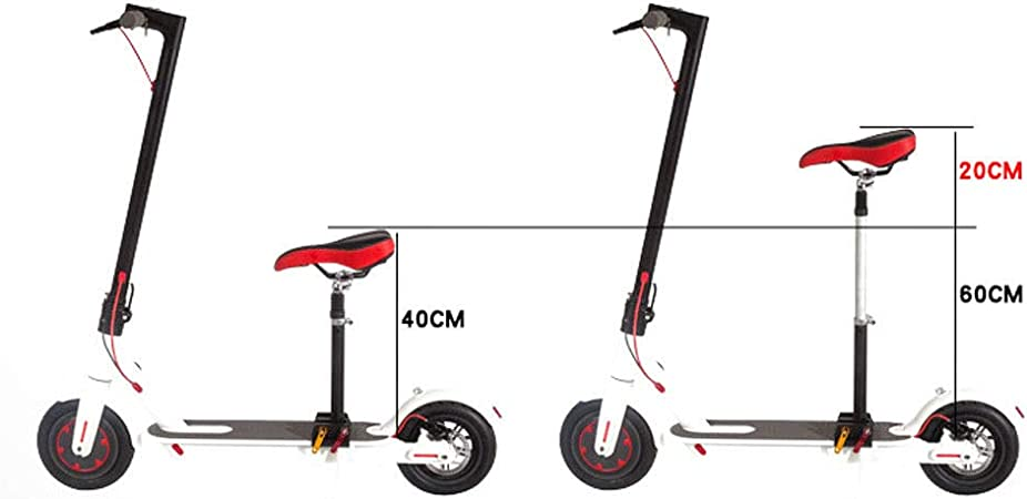 RDFlame Sillín universal para patinete eléctrico, varilla de ...