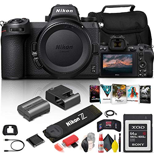Nikon Z 7II Mirrorless Digital Camera 45.7MP (Body...