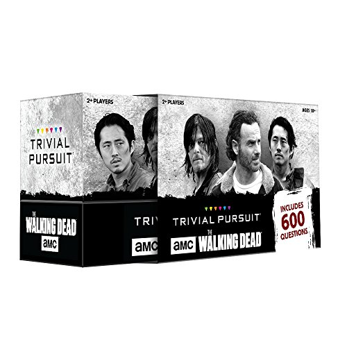 The Walking Dead AMC Trivial Pursuit Board Game