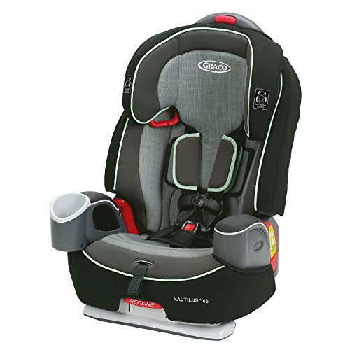 GRACO Nautilus 65 3-in-1 Harness Booster, Landry, 24.69 pounds
