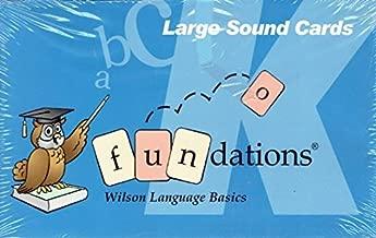 Fundations Large Sound Cards Grade K, 9781567781717, 1567781713, 2002