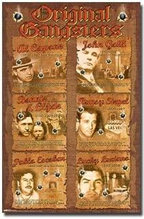 ORIGINAL GANGSTERS POSTER Al Capone John Gotti Mafia