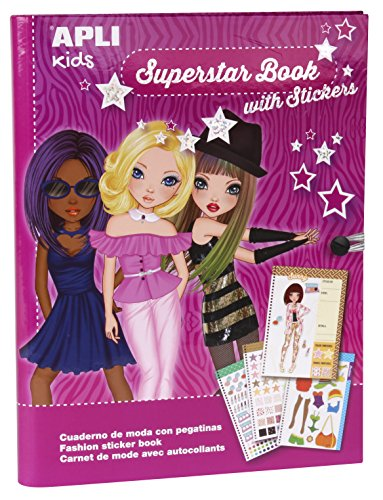 Apli kids 14586 Fashion Designs Sticker Book