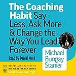 The Coaching Habit audiobook cover art