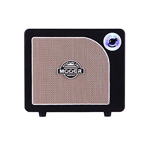 MOOER Hornet Black Practice Guitar Amp 15 Watt Digital Modelling Combo Amplifier Small Desktop Style Amplifier for Electric Guitar