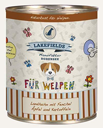 Lakefields Hochwertiges Premium Welpen Hundefutter (Huhn, 6 x 800 gr)