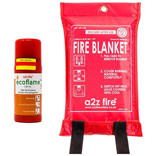 Couverture Anti-feu et Extincteur Maison de Cuisine kit–sans Danger pour friteuse...