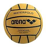 ARENA 0000095202-039 Balón de Waterpolo, Hombre, Amarillo (Negro),...