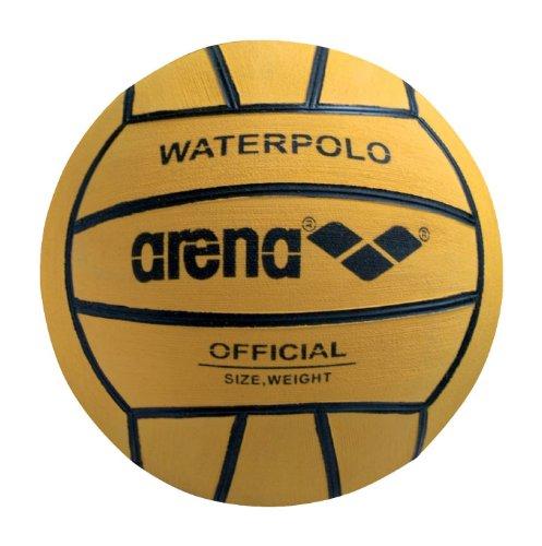 Arena 0000095202 Pelota de watepolo, Hombre, Yellow/Black, Talla Única