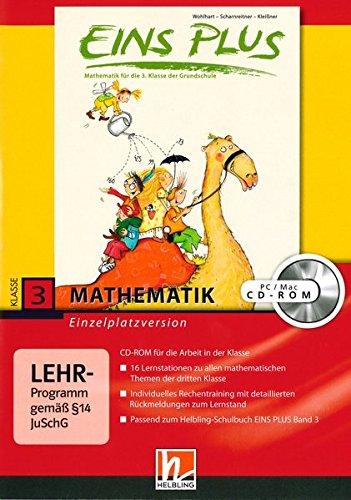EINS PLUS 3. Ausgabe Deutschland. Lernsoftware für die Klasse: Einzelplatzversion. Klasse 3 (EINS PLUS (D) / Mathematik Grundschule)