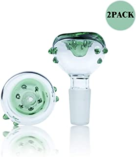 Glass Slide Bowl 14 mm Male (2pcs ,14 mm Male Bowl)